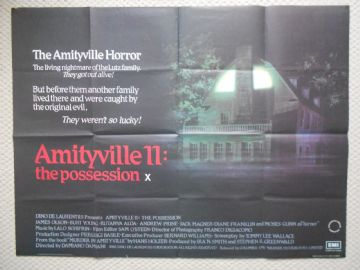 Amityville 2 The Possession, Original UK Quad Poster, James Olson, '82